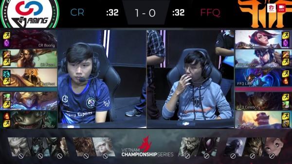 LMHT: FFQ nhận thất bại 1-2 trước Cantho Cherry khi Heaven và Lies liên tục mắc sai lầm