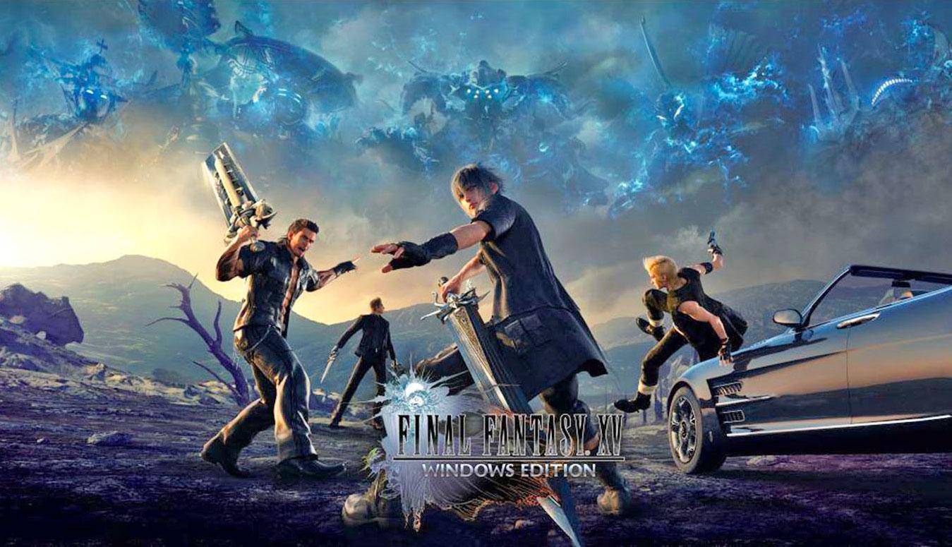 Sốc khi Final Fantasy XV tung ra phiên bản mới nặng lên đến... 155GB
