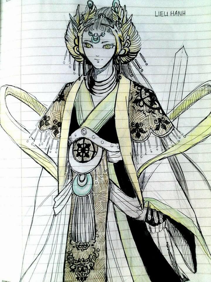 Khi các nhân vật cổ tích Việt Nam được biến hóa với phong cách anime đầy mới lạ