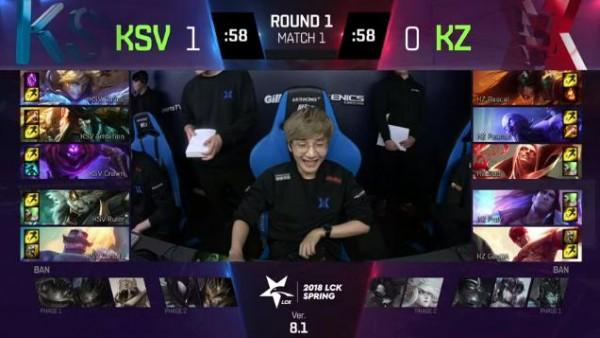 LMHT: Không có Khan, đương kim vô địch CKTG dễ dàng hủy diệt KZ 2-0 trong trận ra quân LCK Mùa xuân 2018