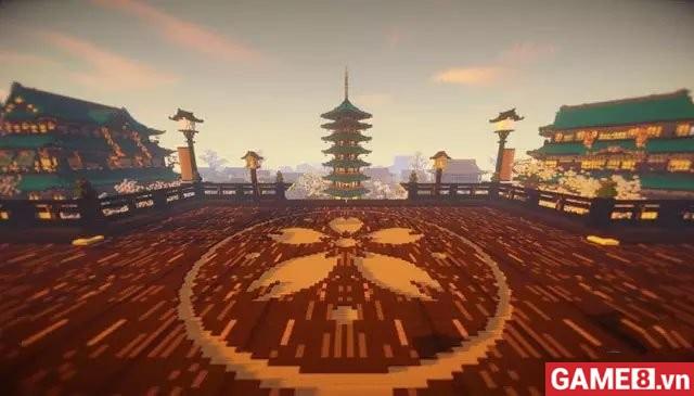 Bất ngờ khi Minecraft Mobile đưa hẳn thế giới của Âm Dương Sư vào game - ảnh 2