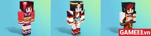 Bất ngờ khi Minecraft Mobile đưa hẳn thế giới của Âm Dương Sư vào game - ảnh 3