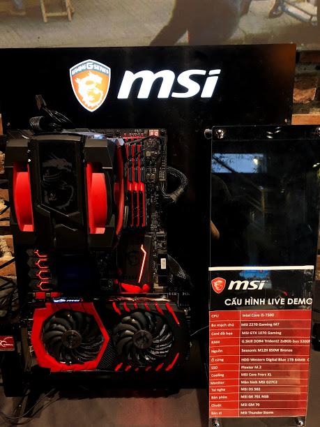 MSI chính thức tiến công thị trường gaming gear, mang tới nhiều sự lựa chọn tuyệt vời cho game thủ Việt