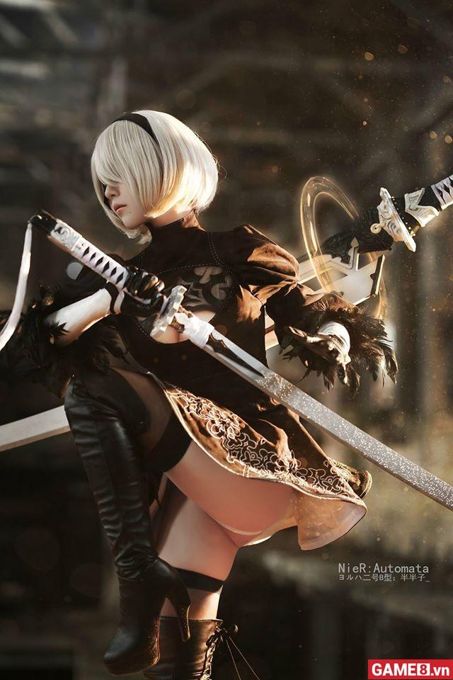 Ngắm nhìn bộ cosplay mới đẹp đến từng centimet của nhân vật 2B trong Nier:
