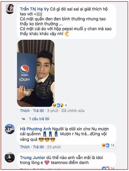 Noo Phước Thịnh gặp sự cố khi livestream, lộ nội y đen khiến chị em phát cuồng - ảnh 3