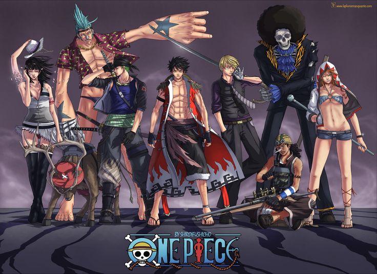 Loạt tác phẩm One Piece bước ra đời thực đẹp không chê vào đâu được - ảnh 1