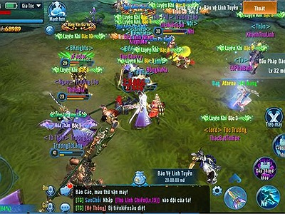Hàng loạt án mạng kỳ lạ xảy ra trong game mobile Phàm Nhân Tu Tiên VNG