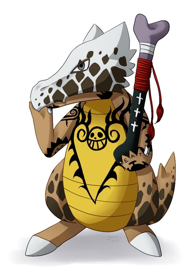 Khi các Pokemon dễ thương bước chân vào thế giới hải tặc trong One Piece - ảnh 9