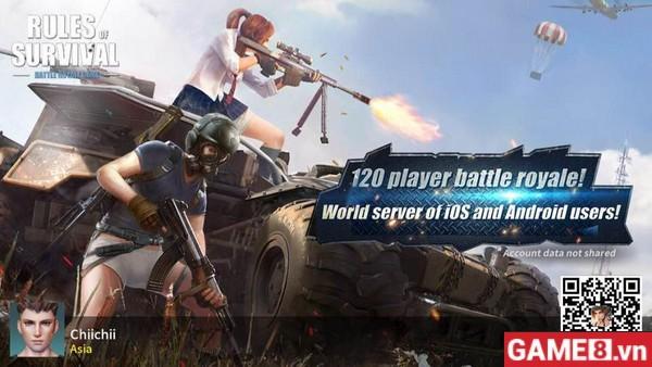 Nếu PUBG Mobile ra mắt, bạn có nghĩ Rules of Survival vẫn là game sinh tồn được CHƠI NHIỀU NHẤT??? - ảnh 2
