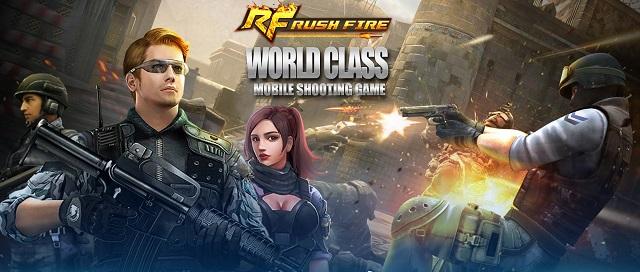 Phục Kích chính thức được VTC Game phát hành tại Campuchia với tên gọi Rush Fire