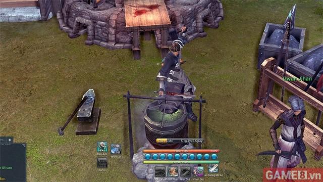 Làm thế nào để sửa chữa vũ khí trong Blade and Soul?