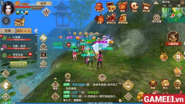 Tân Thiên Long Bát Bộ Mobile ngút trời khói lửa trong chiến trường xuyên nhị quốc Tống - Liêu