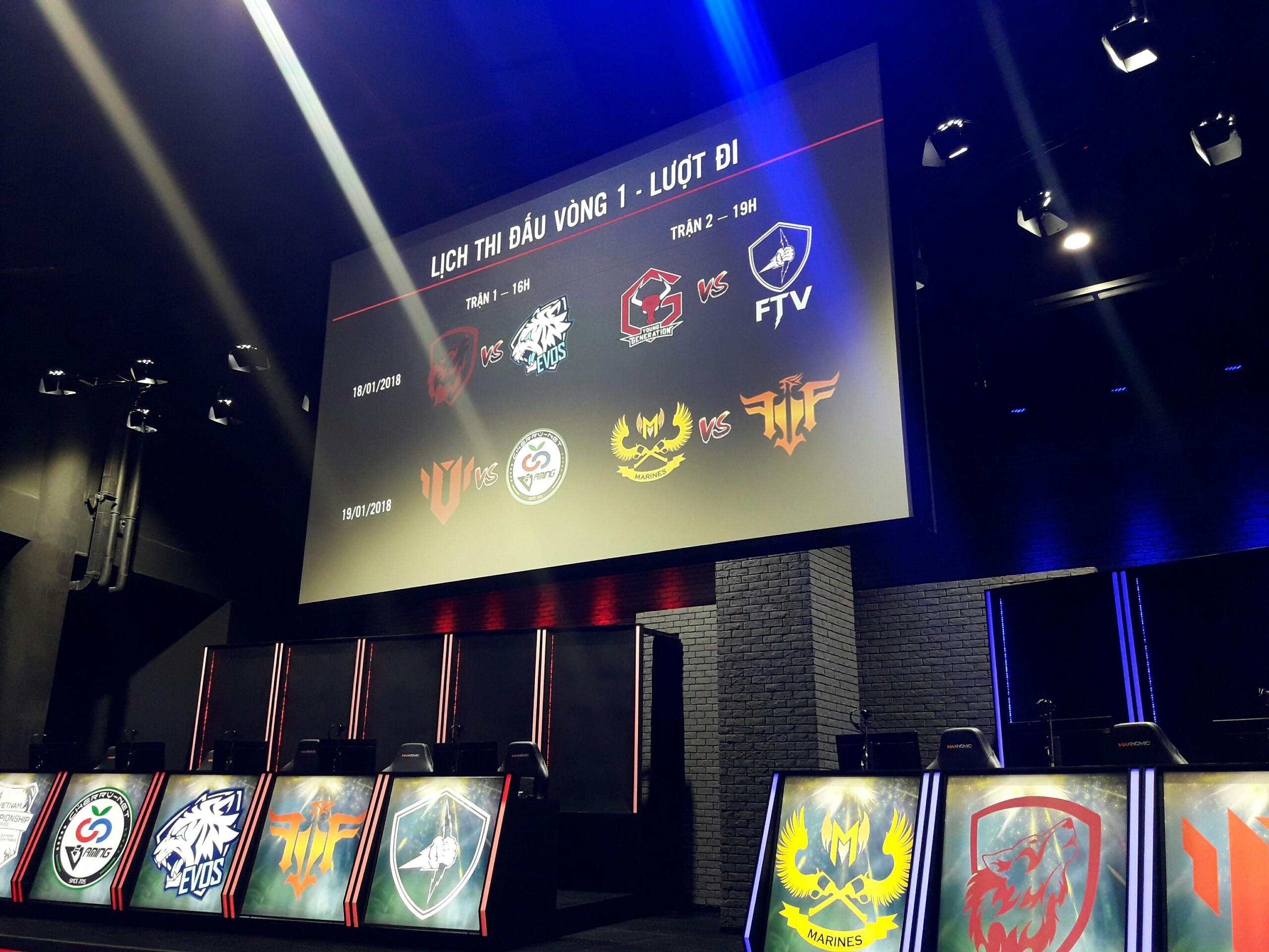 LMHT: Thông tin và hình ảnh vé VCS Mùa Xuân 2018 khi lần đầu tiên vòng bảng VCS được tổ chức offline tại sân khấu