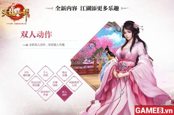 Không thể rời mắt trước bản cập nhật mới cực kỳ hấp dẫn của Tân Thiên Long Bát Bộ Mobile