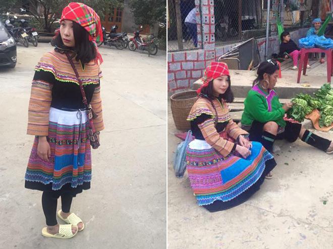 Cô gái vùng cao gây sốt dân mạng vì sở hữu vòng 3 gần một mét - ảnh 1
