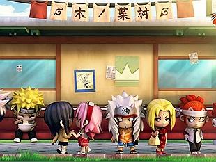 """Game thủ Việt """"bội thực"""" với game online đề tài Naruto?"""